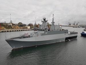 Polish OPV 'Slazak' Starts Sea Trials