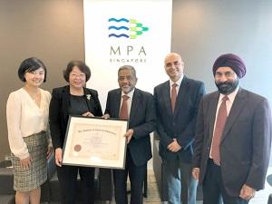 Tan Beng Tee Awarded Honorary Fellowship