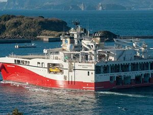 PGS Offers Seismic Vessel to Japan