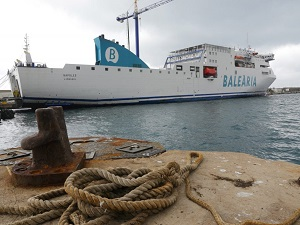 Baleària Begins Retrofitting Nápoles to LNG