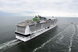 MSC Grandiosa Aces Sea Trials