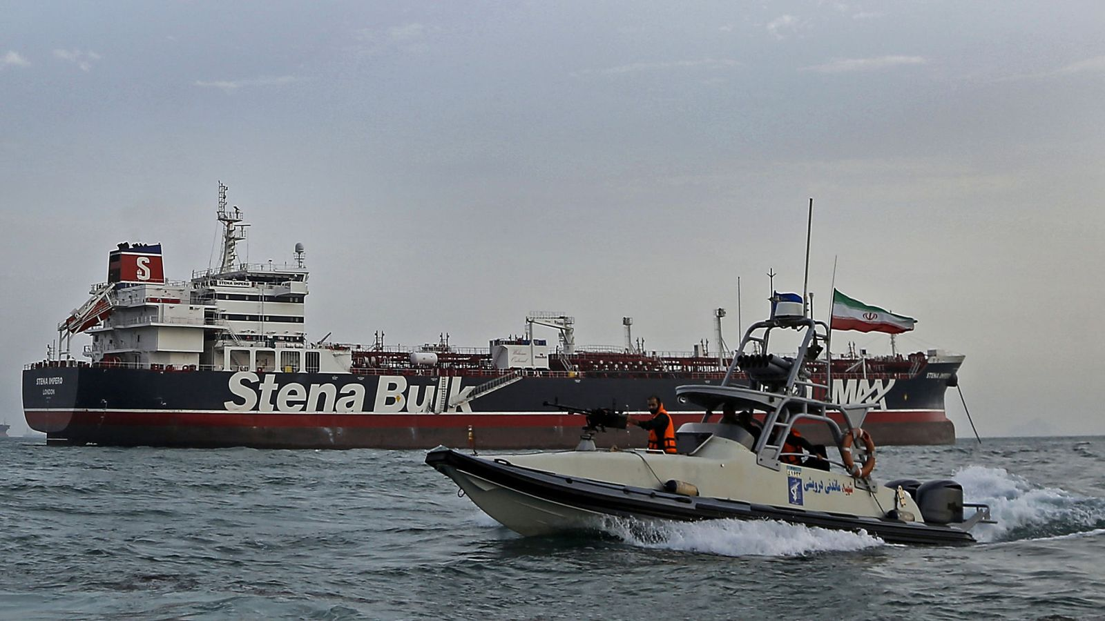 Iran to free seven crew from detained British-flagged ship Stena Impero