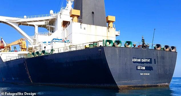 Pentagon chief says  no plan to seize Iranian tanker
