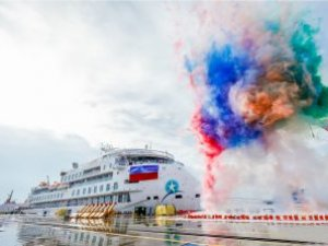 SunStone Names, Takes Delivery of Its First Polar Cruise Ship