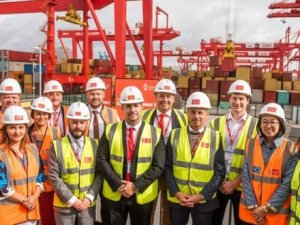 Embassy representatives visit Port of Liverpool