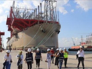 Turkish powership to produce 1st LNG power in Africa