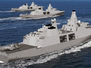 £1.3bn contract for fleet of warships to 'bring shipbuilding home'