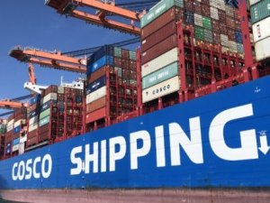 COSCO receives 6th mega container ship from Jiangnan Shipbuilding