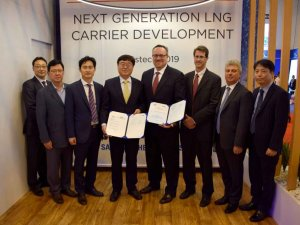 Samsung Heavy, ABS Team Up on Next-Generation LNG Carrier