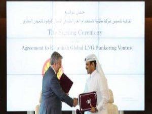 Shell, Qatar Petroleum Form Global LNG Bunkering JV
