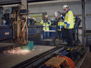 First Steel Cut for New Swedish-Finnish RoPax
