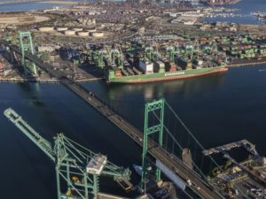 More cargo, less emissions at the Port of LA