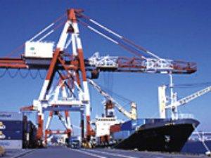 International box traffic at Tokyo port dips