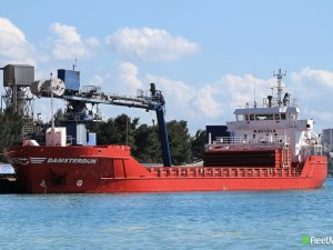 Dutch freighter crew injured in mooring accident, died, Ipswich