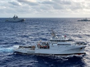 "French Navy Offshore Support And Assistance Vessel ""Garonne"""