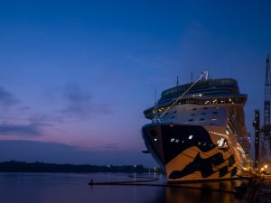 Princess Cruises Takes Delivery of 4th Royal-Class Ship