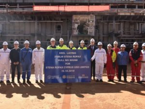 Keel Laid for New English Channel RoPax