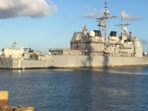 U.S. Navy Started Modernization Work For USS Hué City – CG 66