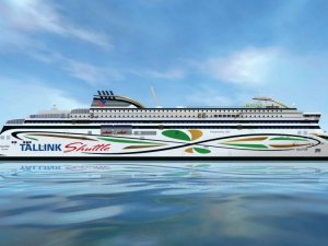 Tallink Unveils Name of New Dual-Fuel Shuttle Vessel