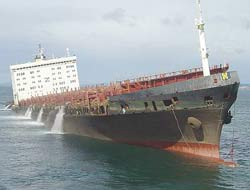 MSC NAPOLI to be beached again