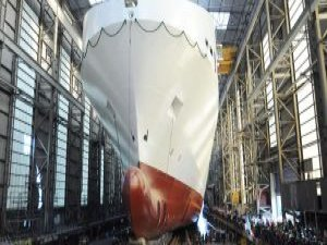 FSG Launches Siem's Newest RoRo Vessel