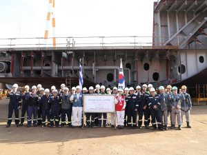 Samsung Heavy Lays Keel for GasLog's 174,00 cbm LNG Carrier