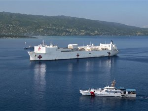 U.S. Navy USNS Comfort hospital ship will be deployed Haiti for medical mission