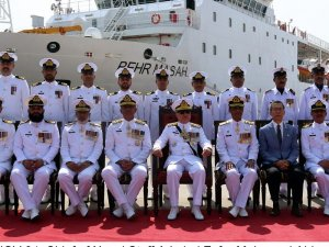 Pakistan Navy Commissions New Survey Vessel Behr Masah