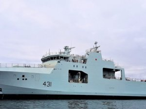 Halifax Shipyard Launches 2nd AOPS For Royal Canadian Navy
