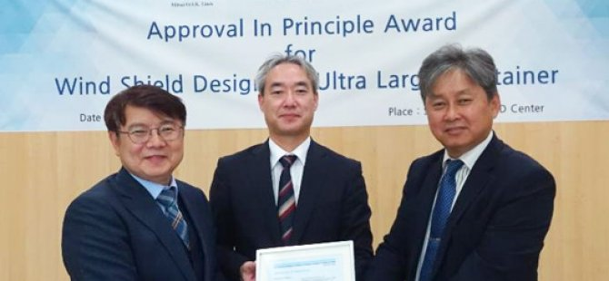 MOL, SHI Win DNV GL AIP for ULCV Bow Windshield Design