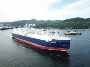 Teekay Receives Fifth Arc7 Icebreaking LNG Carrier