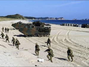 Japan Launched Largest Amphibious Drill Since WWII