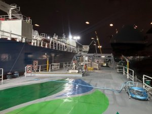 Titan LNG Wraps Up 1st STS LNG Bunkering in Port of Ghent