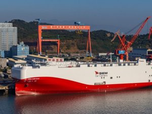 Siem's LNG Car Carriers for Volkswagen Christened in China