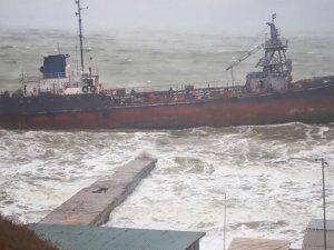 Bunker tanker aground, Ukraine