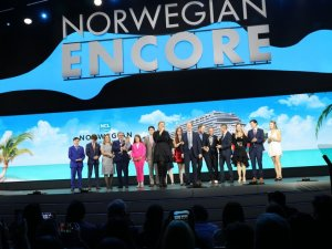 Norwegian Cruise Line's Newest Ship Christened in Miami