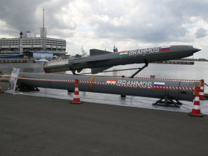 DRDO BrahMos supersonic cruise missile successfully fired by Indian Navy