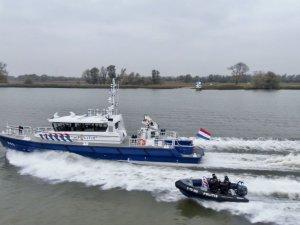Dutch Police Patrol Vessel Christened at Damen Shipyards Gorinchem