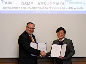 ABS, DSME Ink Digitalization and Decarbonization JDP