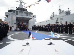 Argentine Navy Commissioned ARA Bouchard OPV Built By Naval Group