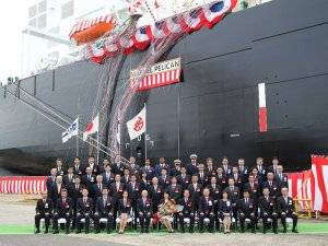 MOL Takes Delivery of Third LNG Carrier for Cameron LNG Project