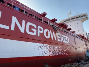Containerships Takes Delivery of 4th LNG-Powered Ship