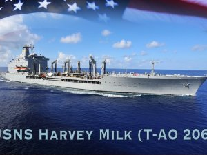 General Dynamics starts construction of future US Navy USNS Harvey Milk