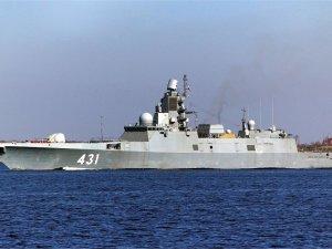Russian Navy Admiral Kasatonov frigate continues trials in Barents Sea