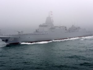 China's 10,000 ton-class destroyer Nanchang now equipped with long-range missiles