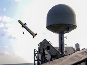 U.S. Navy Coastal Patrol Ships Conduct Griffin Missile Shoot