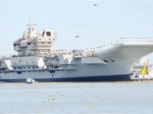 Indian-made aircraft carrier Vikrant will be commissioned by early 2021