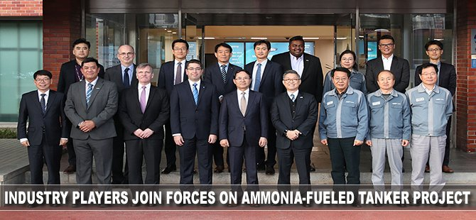 LR: Industry Players Join Forces on Ammonia-Fueled Tanker Project