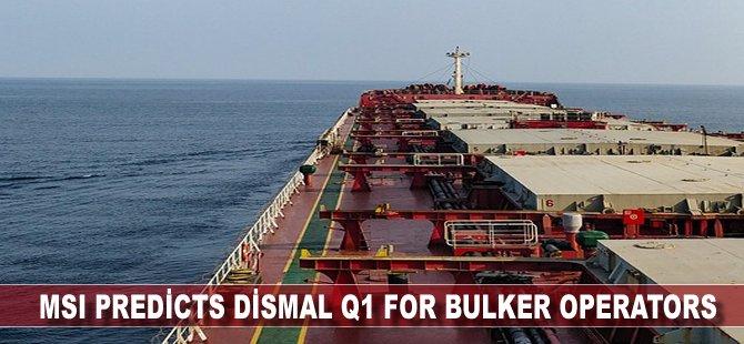 MSI Predicts Dismal Q1 for Bulker Operators