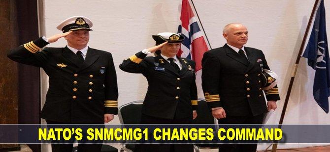 NATO's SNMCMG1 changes command